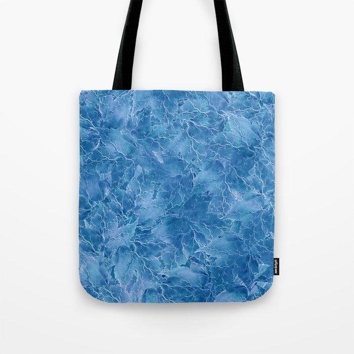 Frozen Leaves 18 Tote Bag