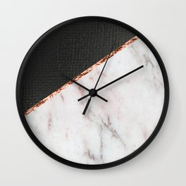 Marble fashion texture Wall Clock