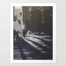 City collage Art Print