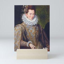 Portrait of Court Lady with Dog by Lavinia Fontana Mini Art Print