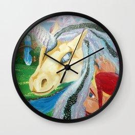 Cosmic Reverie Wall Clock
