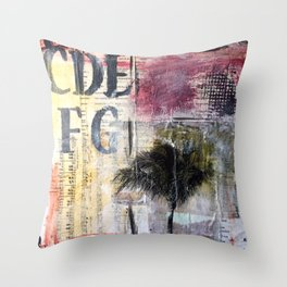 Florida Days  Throw Pillow