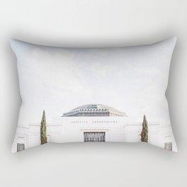 Griffith Park Observatory Rectangular Pillow
