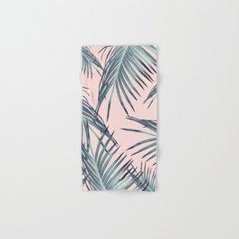 Blush Palm Leaves Dream #1 #tropical #decor #art #society6 Hand & Bath Towel