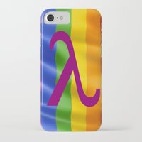 lesbian iPhone & iPod Cases featuring Sappho Lesbian Symbol by SwanniePhotoArt