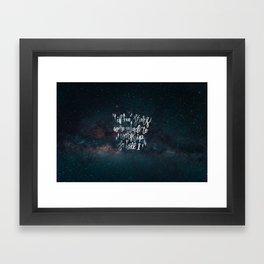 So Will I Framed Art Print