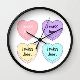 I Miss Joon Wall Clock