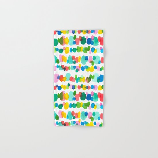 Paradise Dots Hand & Bath Towel