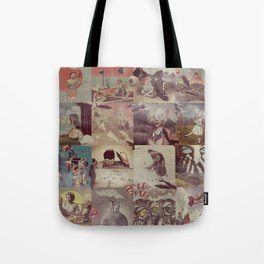 Collage Collage Tote Bag