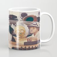 desert Mugs featuring Fear and Loathing on Tatooine by Anton Marrast