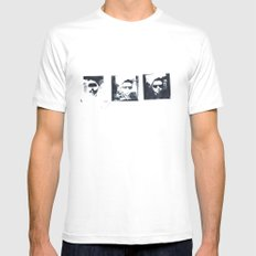 Art School Dropout MEDIUM Mens Fitted Tee White