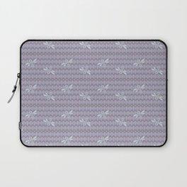 Field of Bees ~ LAVENDER CREAM Laptop Sleeve
