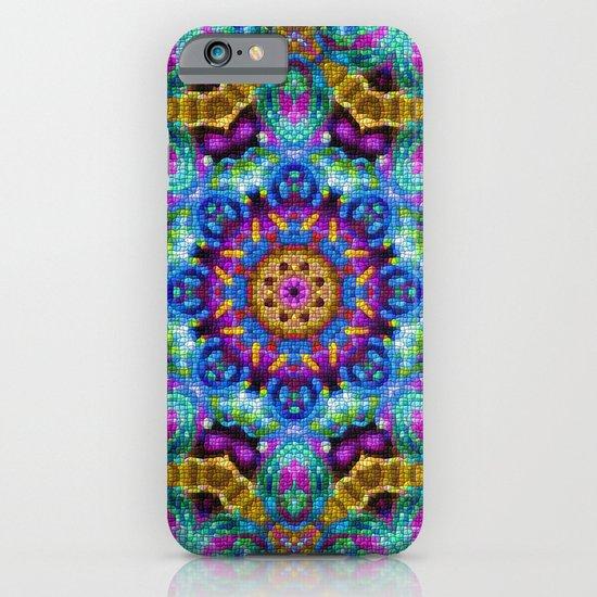 Colorful Mosaic Mandala iPhone & iPod Case