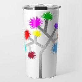 Joshua Tree Pom Poms by CREYES Travel Mug
