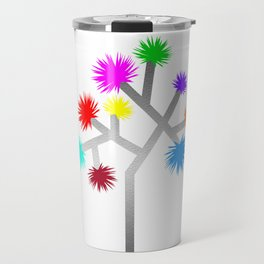 Joshua Tree Pom Poms by CREYES Travel Mug