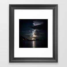 Thunderstorm Framed Art Print