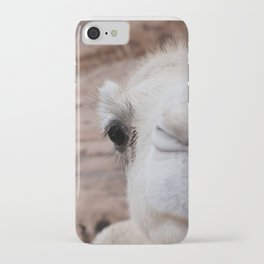 Camels, funny close-up iPhone Case