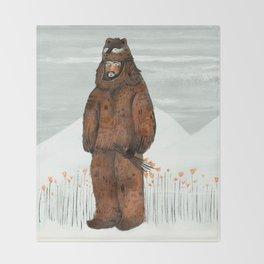 Wilder Mann - The Bear Throw Blanket