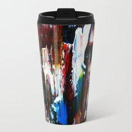 Coney Island (Part 1) acrylics on stretched canvas  Travel Mug