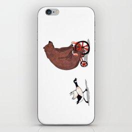 Bear and Goose iPhone Skin