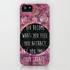 Law of Attraction Slim Case iPhone (5, 5s)
