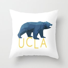 UCLA Geometric Bruin Throw Pillow