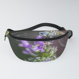 Blue eyed Dragonfly Fanny Pack