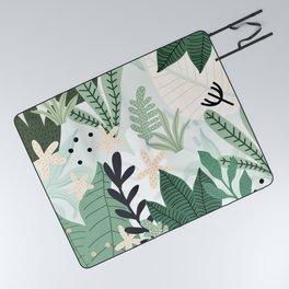 Into the jungle II Picnic Blanket