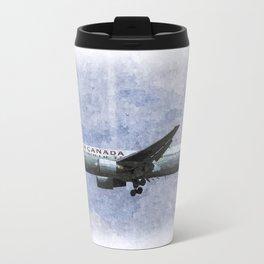 Air Canada Boeing 777 Art Travel Mug