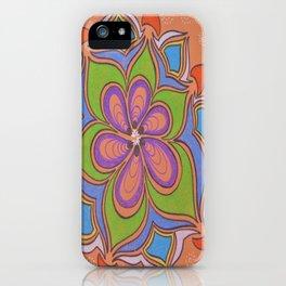 Drops and Petals 4 iPhone Case