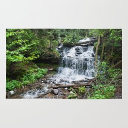 Wagner Falls, Munising, Michigan Rug