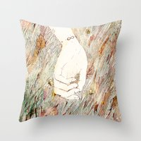 perfume Throw Pillows featuring Perfume #2 by Dao Linh