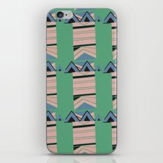 Triangle Abstract ZigZag Pattern iPhone Skin