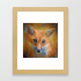 Feeling Foxy Framed Art Print
