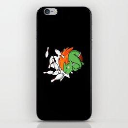 blanka iPhone Skin