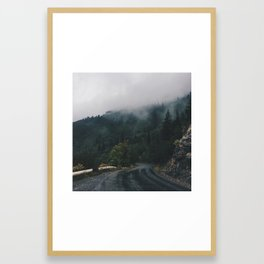 Mountain Rain | Cascade Supply Co. Framed Art Print