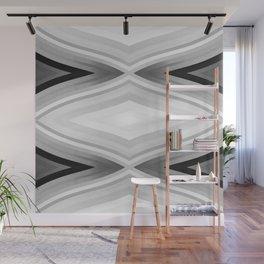 stripes wave pattern 6v2 bwgfi Wall Mural