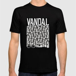 VANDAL and SPRAY CANS T-shirt