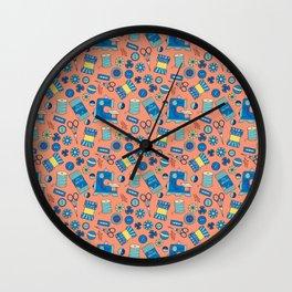 Bits and Bobs Wall Clock