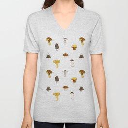 Mushroom Glaze Unisex V-Neck