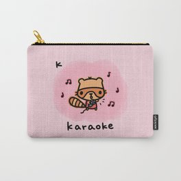 K for karaoke Carry-All Pouch