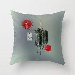 Nightswim Throw Pillow