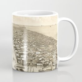 Vintage Pictorial Map of Milwaukee WI (1879) Coffee Mug