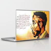 kendrick lamar Laptop & iPad Skins featuring Kendrick Lamar by Monroe the artist