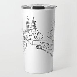 K rotundě, Praha 2, Czech Republic Travel Mug