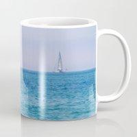 sail Mugs featuring Sail by KASIA