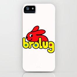 Brolug iPhone Case