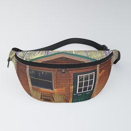 Cabin Camping Fanny Pack
