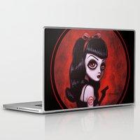 tina Laptop & iPad Skins featuring 7-Tina by Dienzo Art