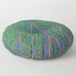 2205 pattern by thin strokes Floor Pillow